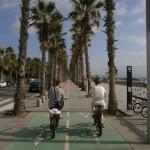 rowerem po Barcelonie