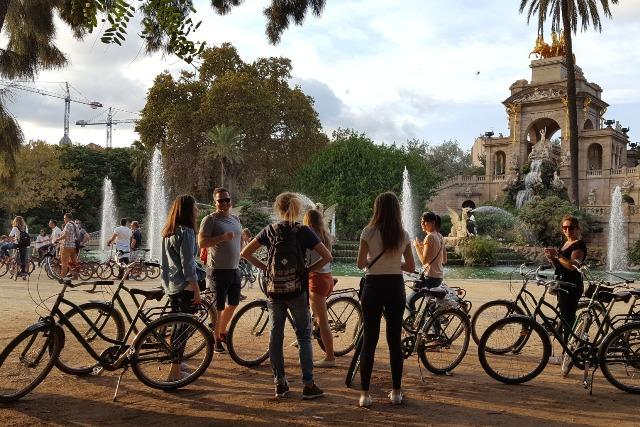 wycieczka rowerowa po Barcelonie