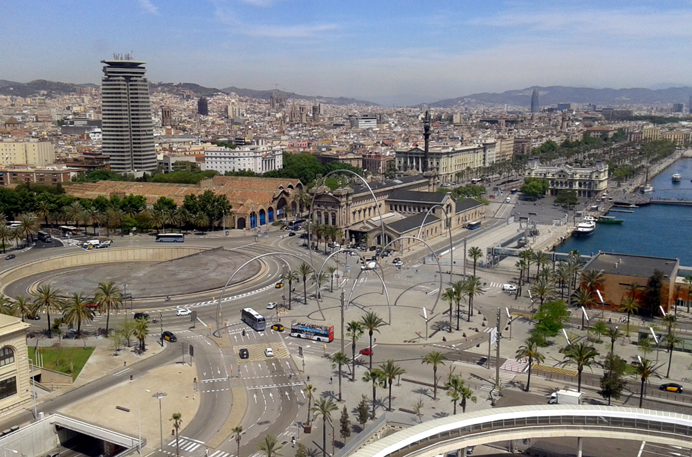 zwiedzanie Barcelony plaza drassanes