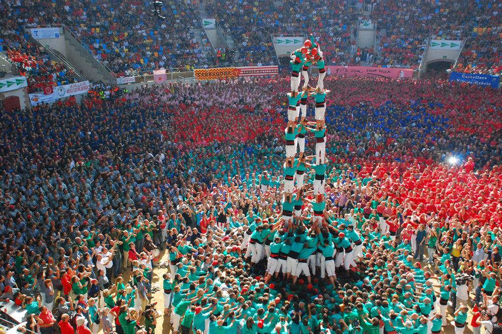 castellers, sport narodowy katalonii