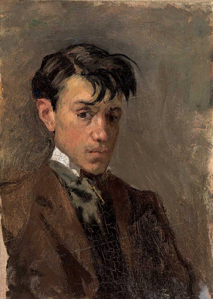 autoportret pablo picasso 1896 rok