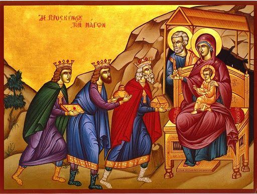 ikona trzej królowie