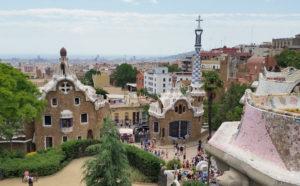 atrakcje barcelony widok z park guell