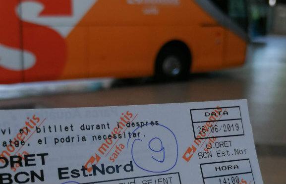 bilet z lloret do barcelony sarfa